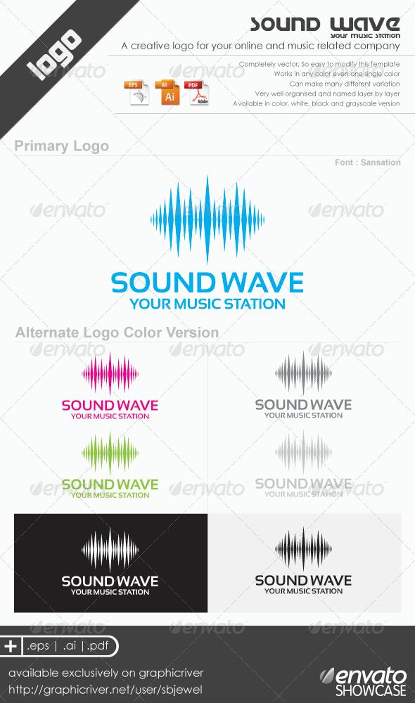 Sound Wave Logo Templates - Abstract Logo Templates