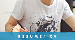 Resume / CV Premium Templates