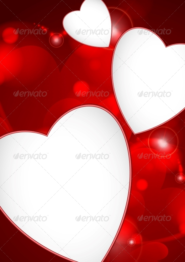 Valentine's Day Or Wedding Background - Valentines Seasons/Holidays