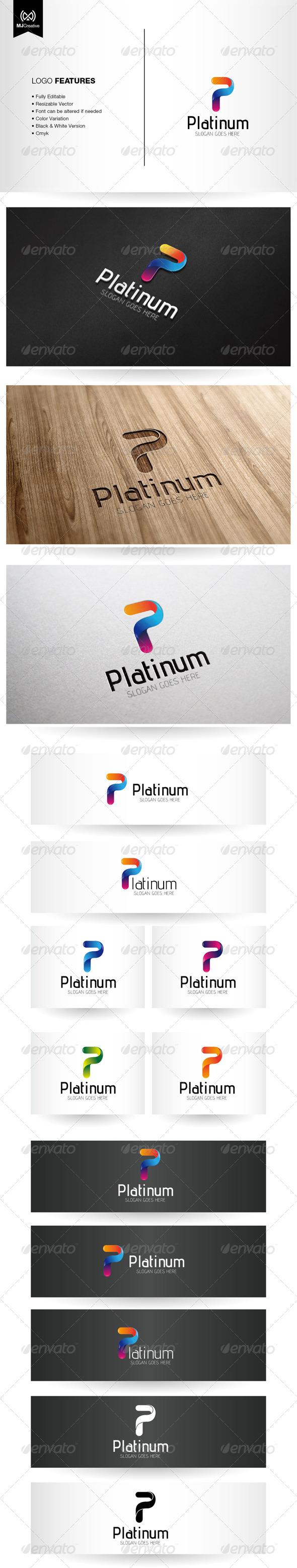 Letter P Logo - Letters Logo Templates