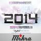 NYE 2014 Skyline Flyer Template - GraphicRiver Item for Sale