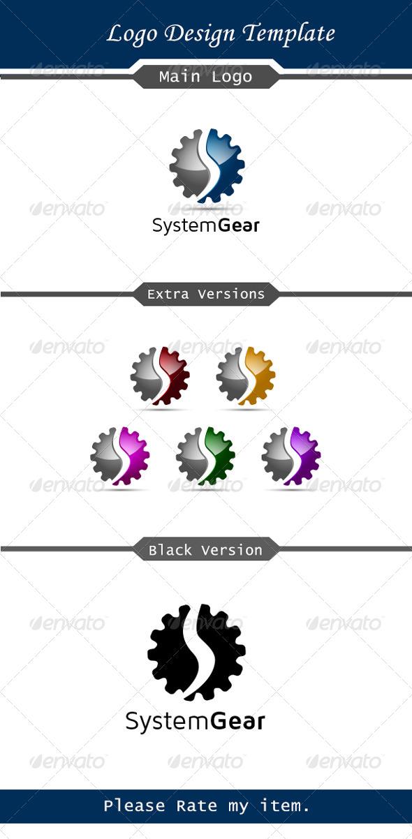 System Gear - Symbols Logo Templates