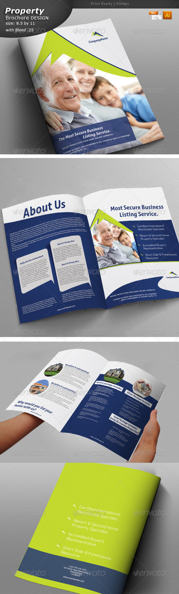 Multi Purpose Brochure - Brochures Print Templates