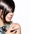 Fashion Model Girl Portrait. Trendy Hair Style - PhotoDune Item for Sale