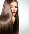 Long Healthy Straight Hair. Model Brunette Girl Portrait - PhotoDune Item for Sale