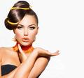 Fashion Beauty Girl. Gorgeous Woman Portrait - PhotoDune Item for Sale