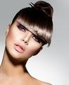 Fringe. Fashion Model Girl With Trendy Hairstyle - PhotoDune Item for Sale