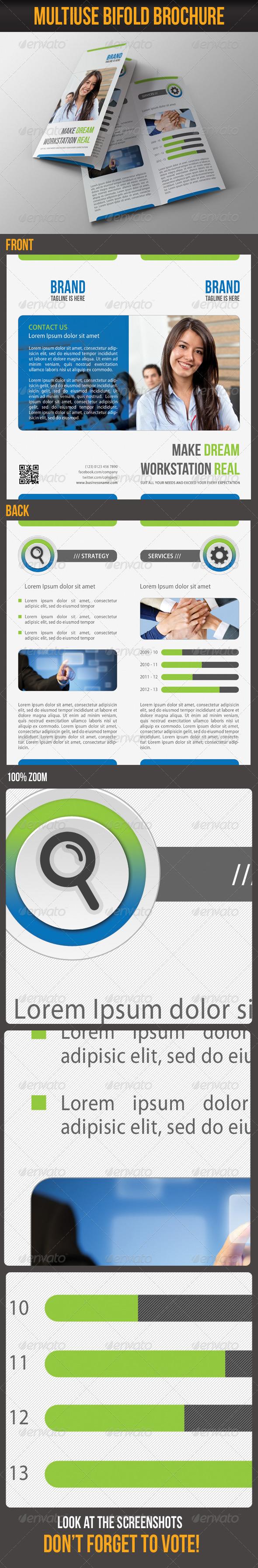 Multiuse Bifold Brochure 05 - Corporate Brochures