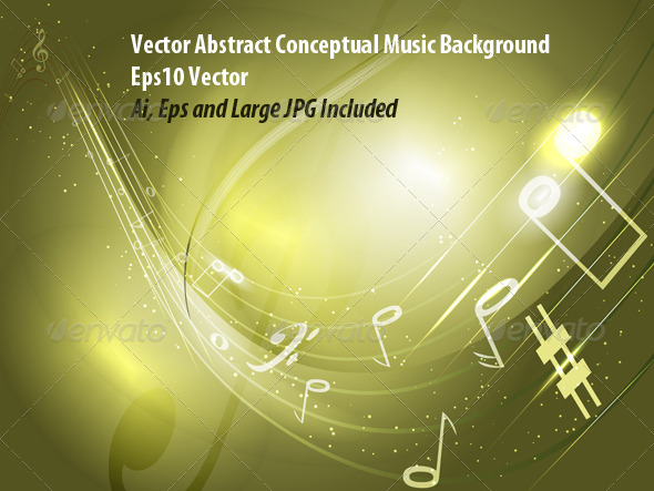 Music Banner - Backgrounds Decorative