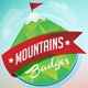Mountain Badges Set - GraphicRiver Item for Sale