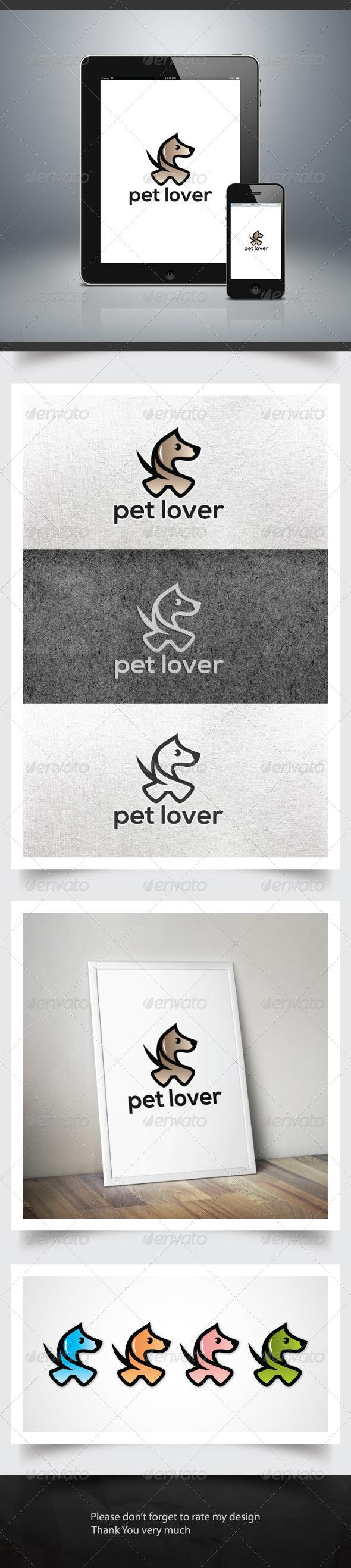 Pet Lover - Animals Logo Templates