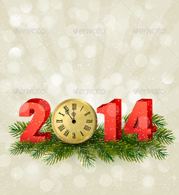 Happy New Year. New Year Design Template - New Year Seasons/Holidays