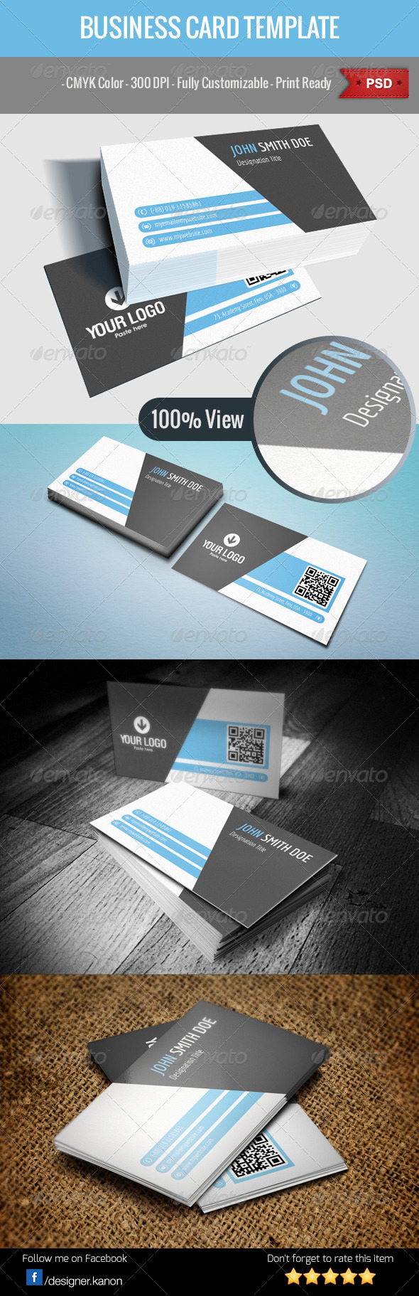 Business Card v5 - Corporate Business Cards