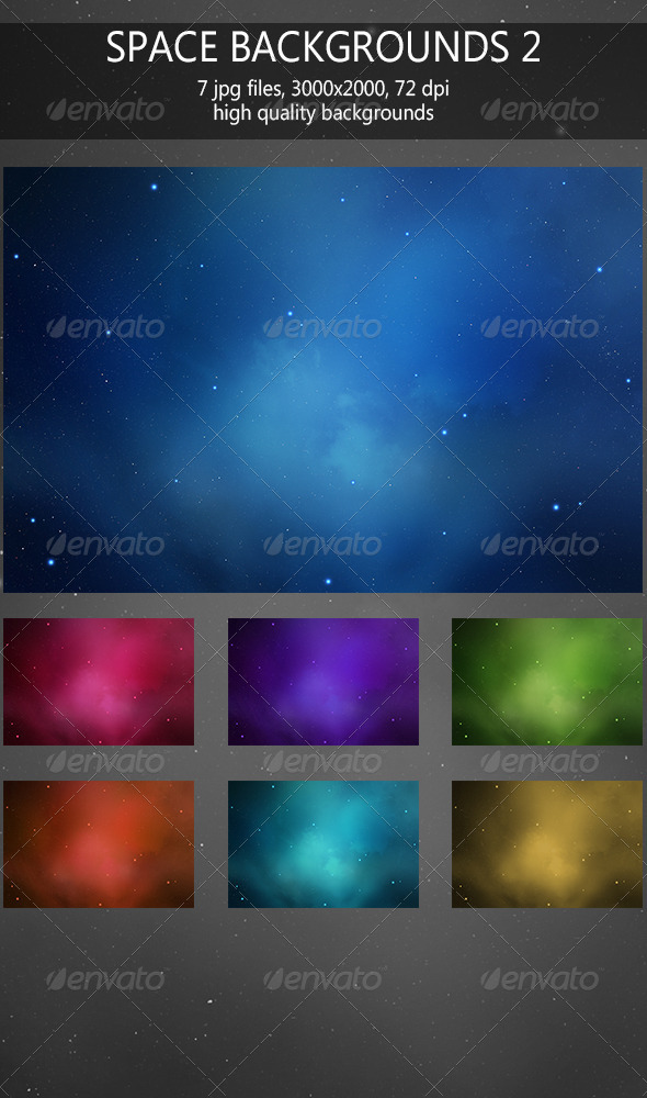 Space backgrounds 2 - Abstract Backgrounds