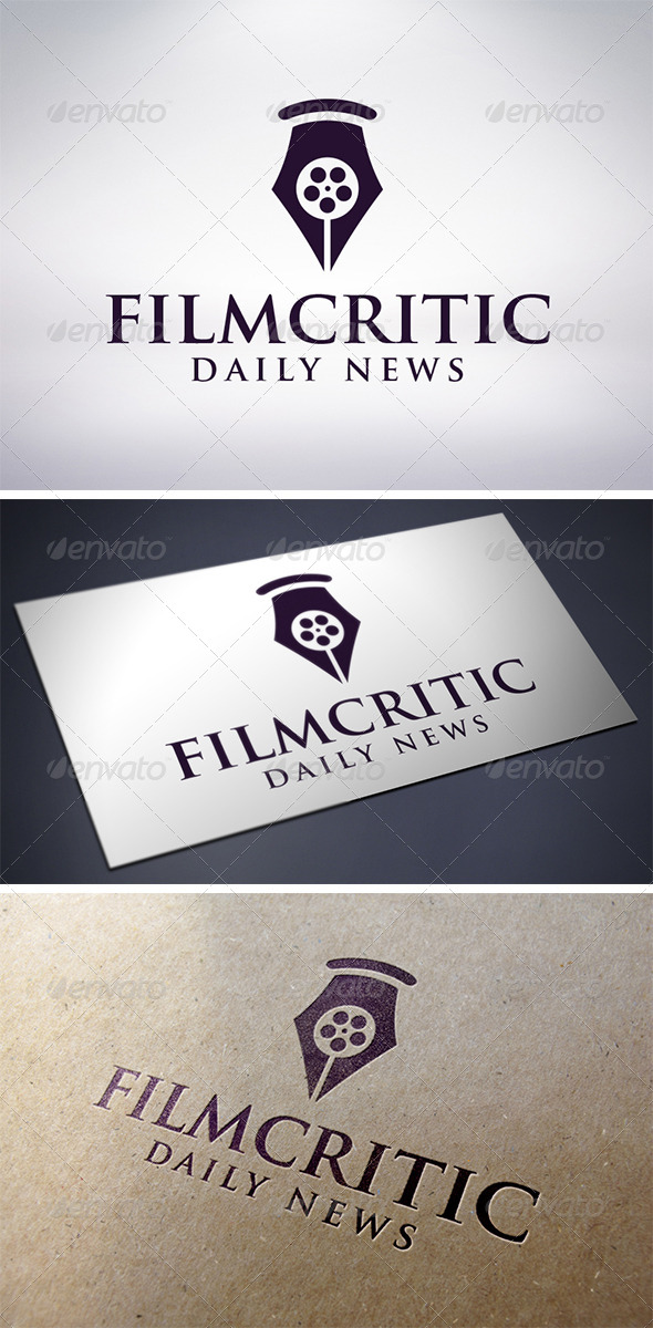 Film Critic Logo Template - Objects Logo Templates