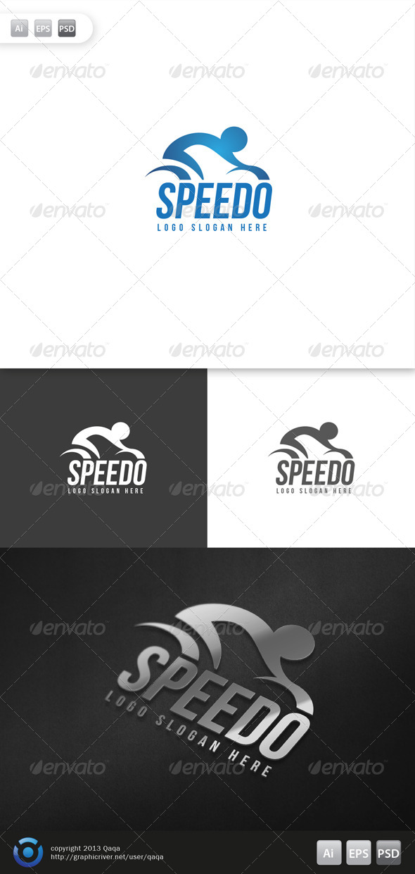 Speed Bike Logo By Slidewerk Graphicriver