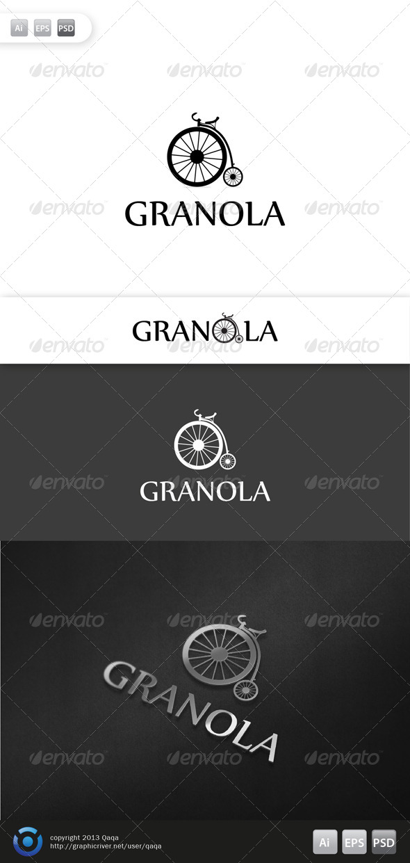 Old Bike Logo - Objects Logo Templates