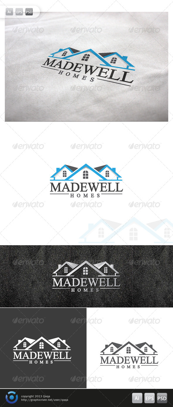 House Logo - 02 - Buildings Logo Templates
