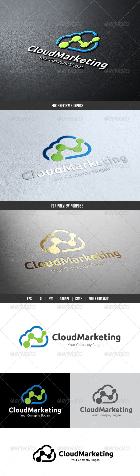 Marketing Cloud - Nature Logo Templates
