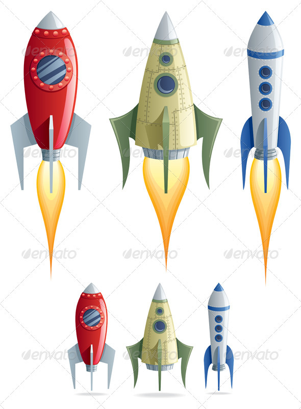 Rockets - Man-made Objects Objects