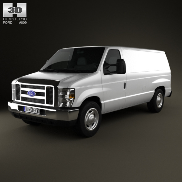 Ford E-series Van 2011 - 3DOcean Item for Sale