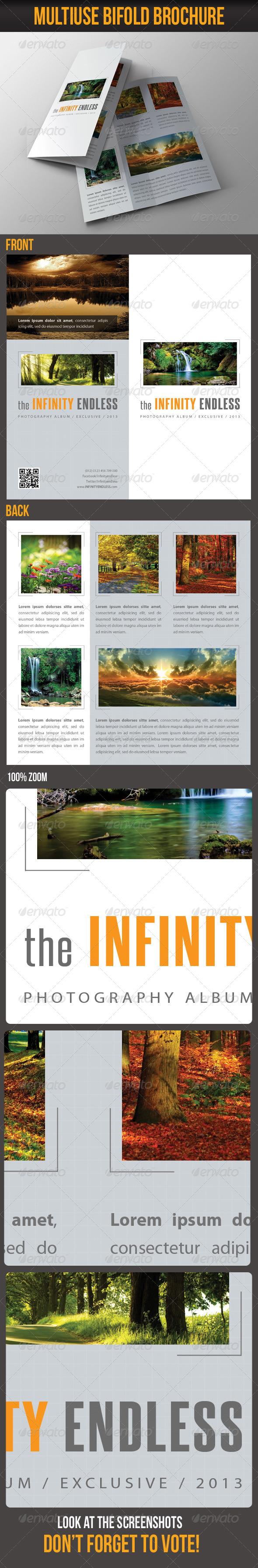 Multiuse Bifold Brochure 07 - Portfolio Brochures