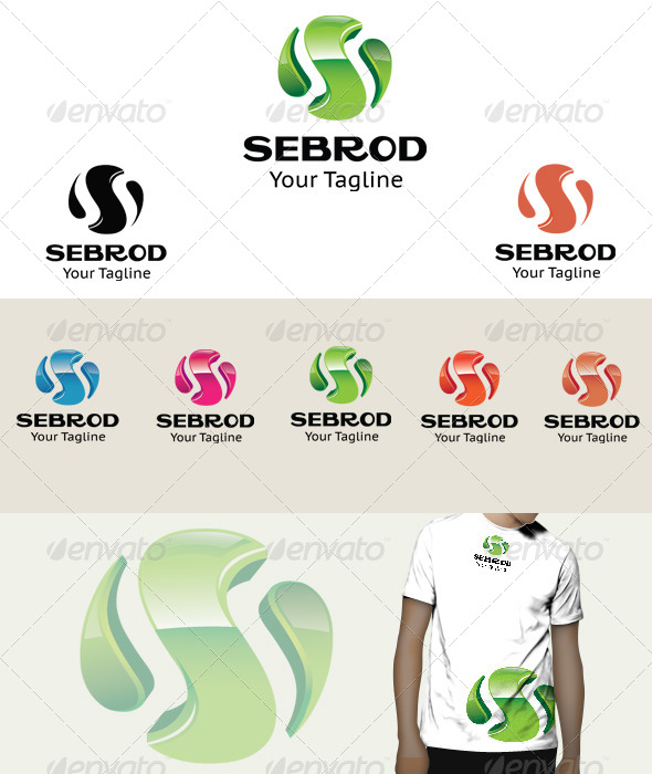 Sebrod Logo - 3d Abstract