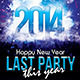 Last Party Flyer - GraphicRiver Item for Sale