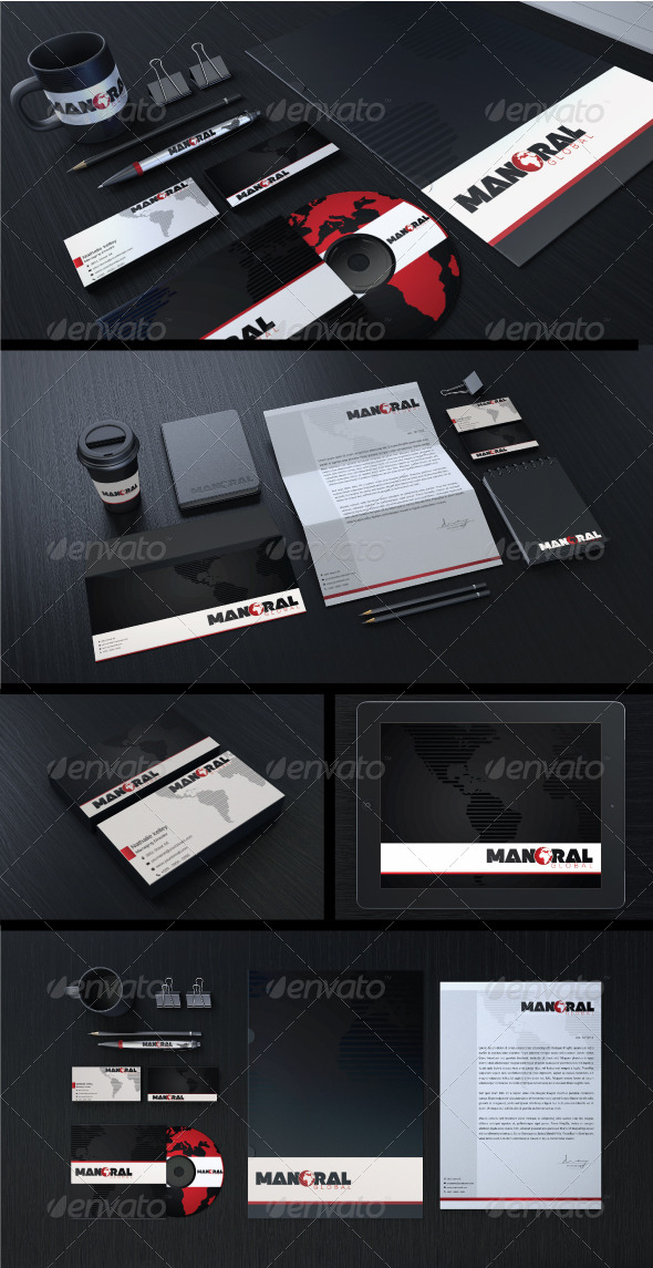 Creative Corporate Identity 02 - Stationery Print Templates
