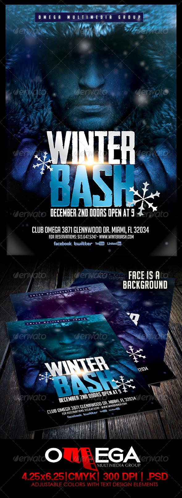 Winter Bash Vol. II - Events Flyers