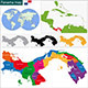 Panama Map - GraphicRiver Item for Sale