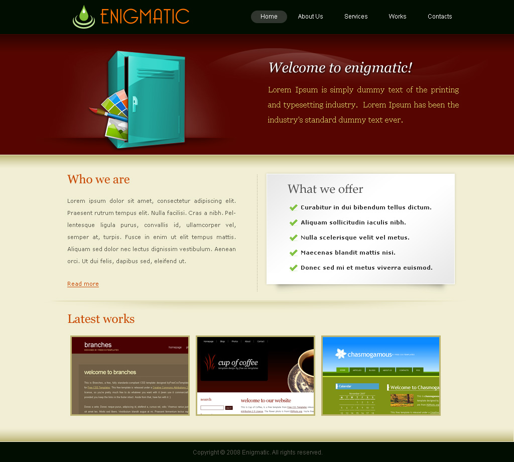 Free Download Enigmatic Nulled Latest Version