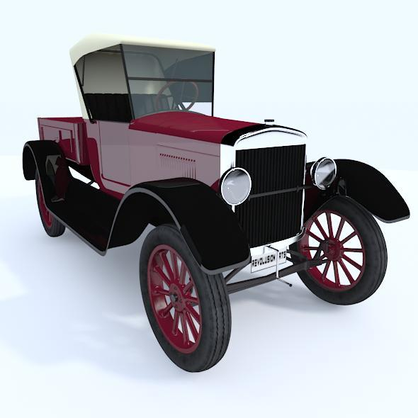 3d Car Model With Vray material - 3DOcean Item for Sale