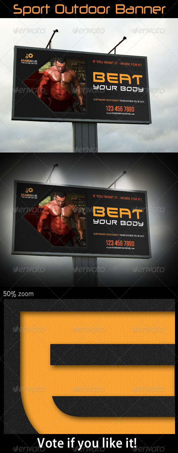 Sport Outdoor Banner 06 - Signage Print Templates