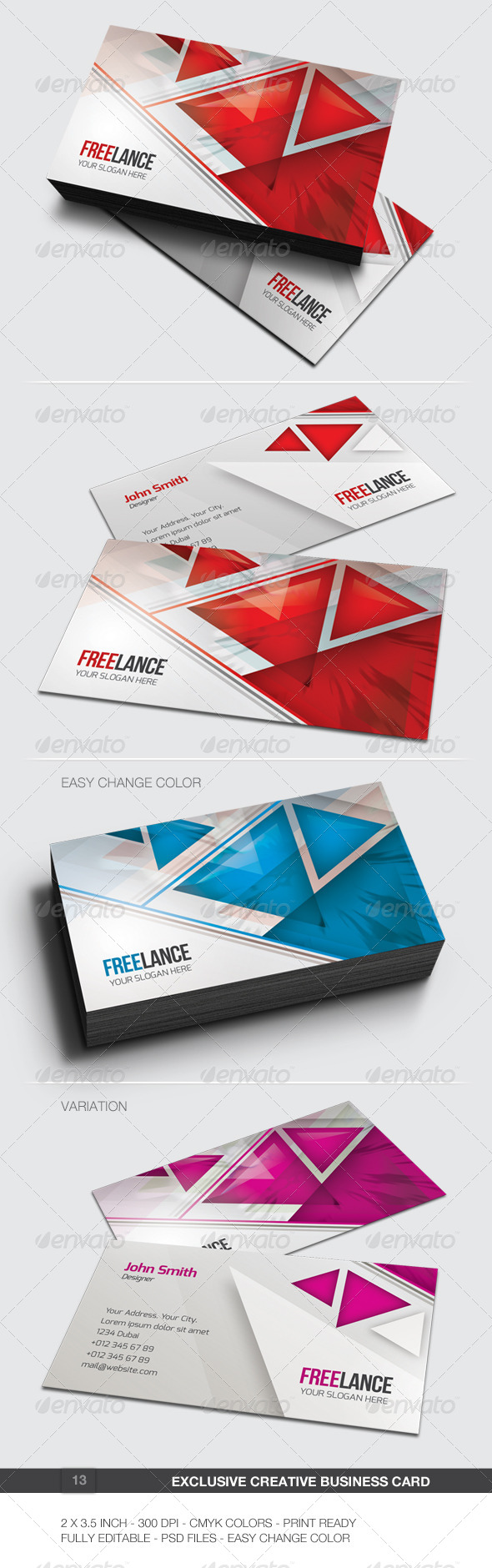 Exclusive Creative Business Card - 13 - Creative Business Cards