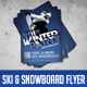 Winter Ski & Snowboarding Event/Party Flyer