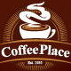 Coffee Place Logo Template - GraphicRiver Item for Sale