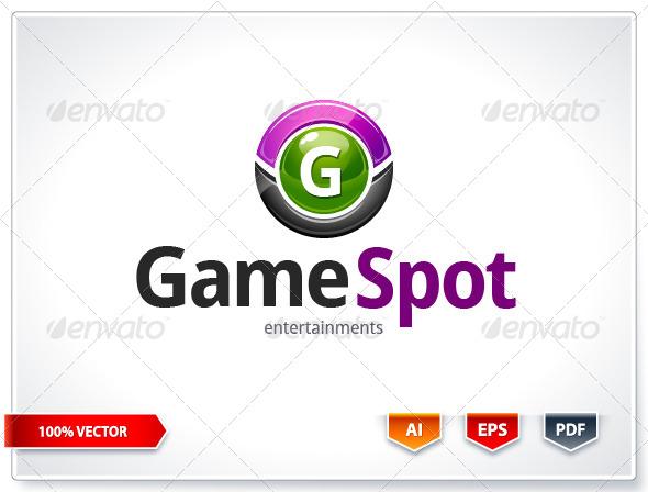 Game Spot Logo Template - Logo Templates