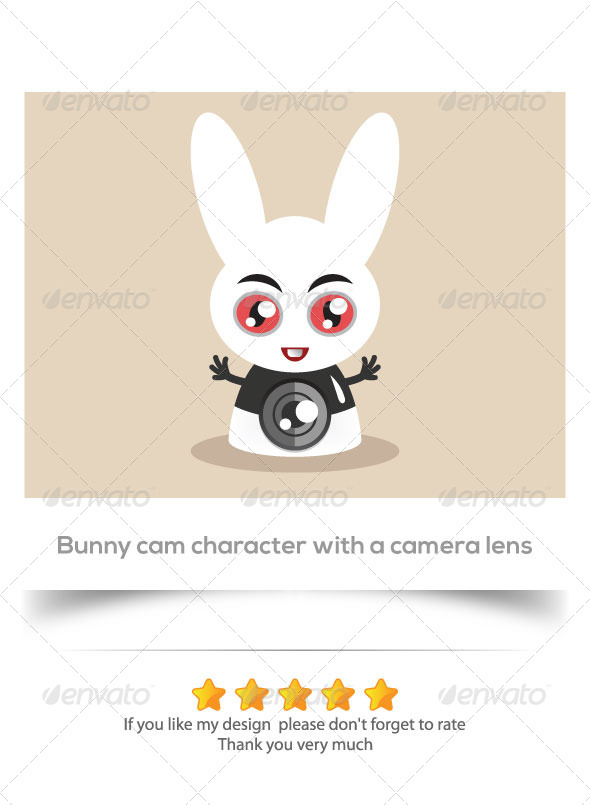 Bunny Cam Character - Animals Characters