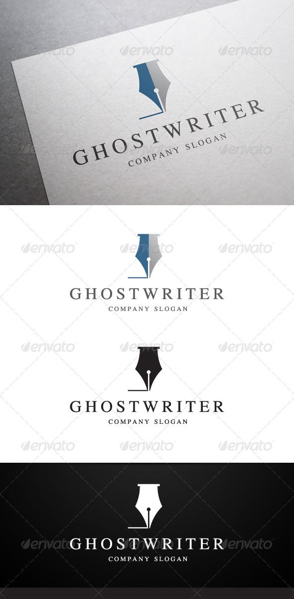 Ghostwriter Logo - Objects Logo Templates