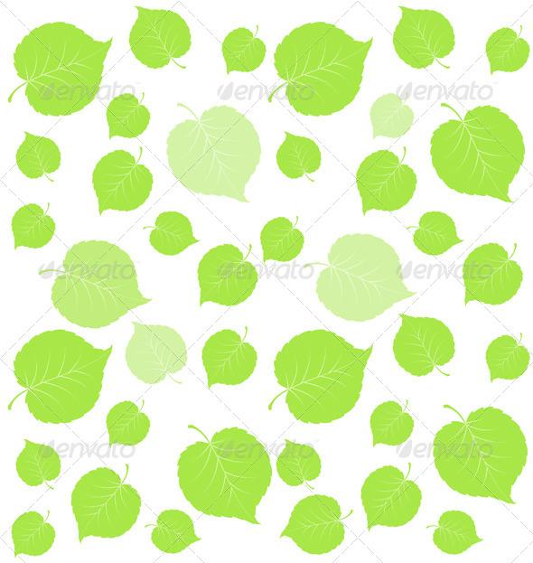 Leaf Green Background - Seasons Nature