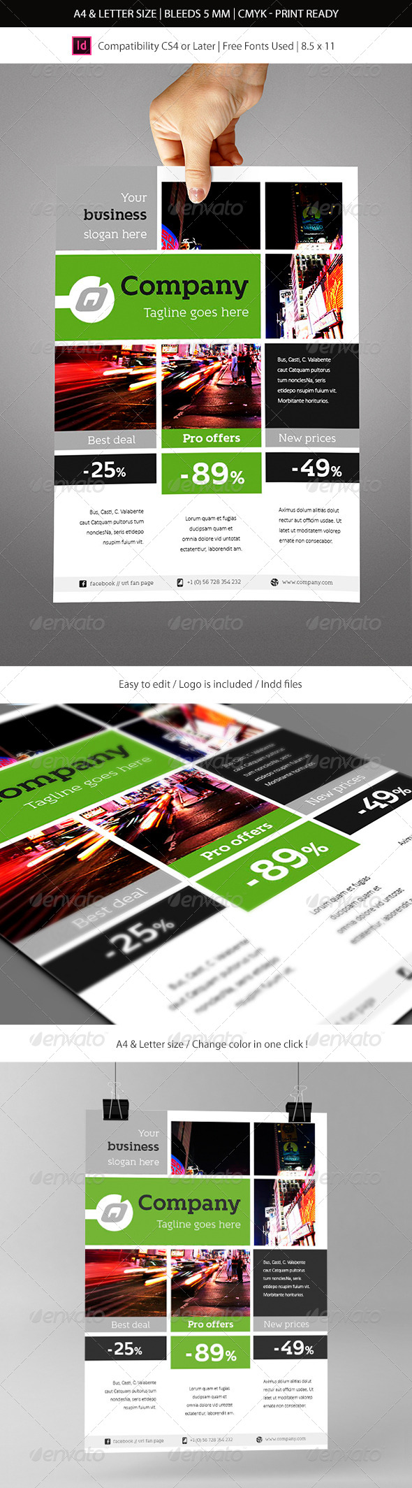 Indesign Business Flyer Template - Corporate Flyers