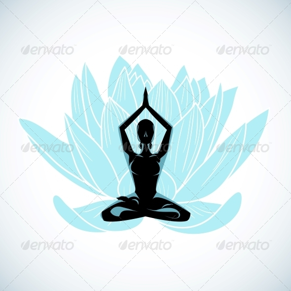 Yoga - Decorative Symbols Decorative