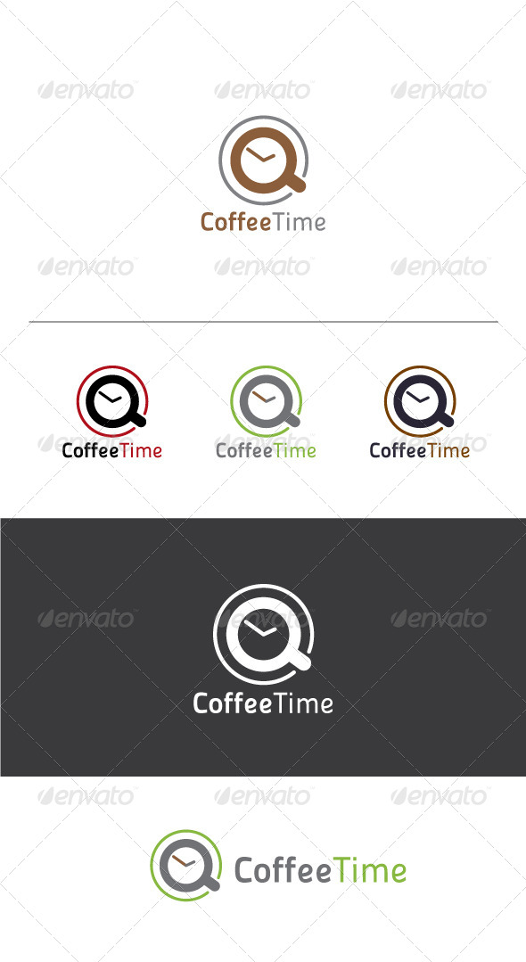 Coffee Time Logo Template - Objects Logo Templates
