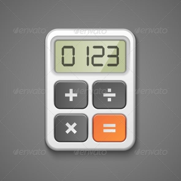 Calculator Icon  - Concepts Business