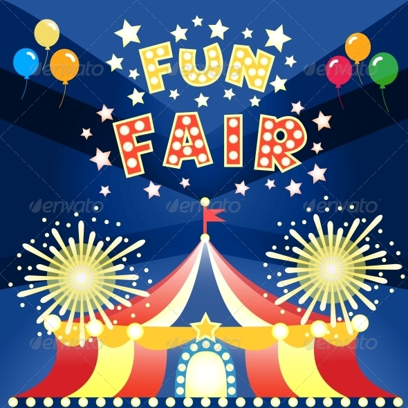 Fun Fair Poster - Miscellaneous Seasons/Holidays