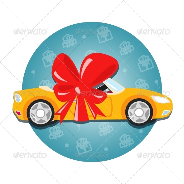 Car Gift - Decorative Symbols Decorative