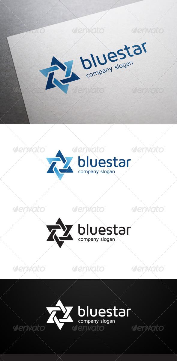 Blue Star Logo - Symbols Logo Templates