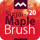 Sugar Maple Brush - With the 20 HQ Leaf Source - GraphicRiver Item for Sale