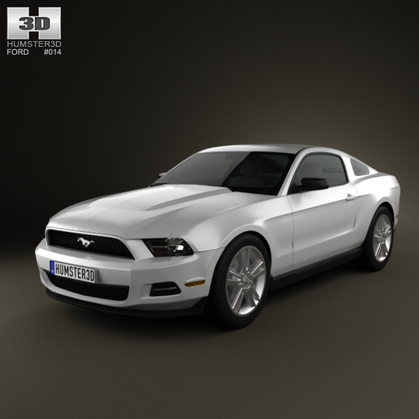 Ford Mustang V6 2012 - 3DOcean Item for Sale